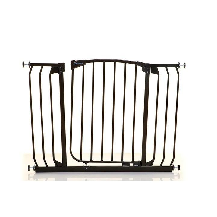 Dreambaby Chelsea Xtra Wide Auto Close Security Gate Black