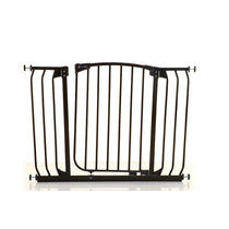 Dreambaby Chelsea Xtra Wide Auto Close Security Gate Black - Cubox Australia