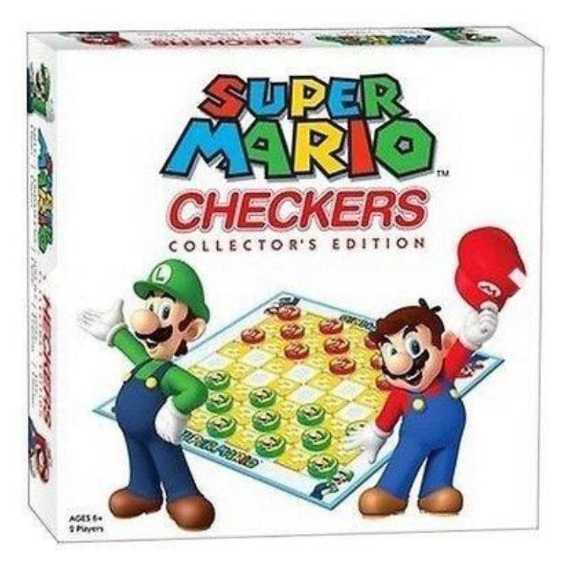 Super Mario Collectors Edition Checkers Set