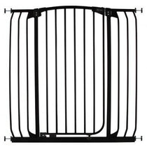 Dreambaby Chelsea Xtra Tall and Xtra Wide Hallway Auto Close Security Gate Black - Cubox Australia