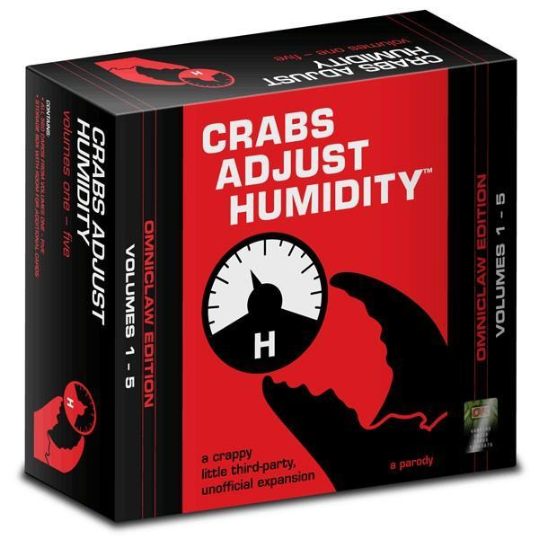 Crabs Adjust Humidity: Omniclaw Edition (Volumes 1-5) Card Game