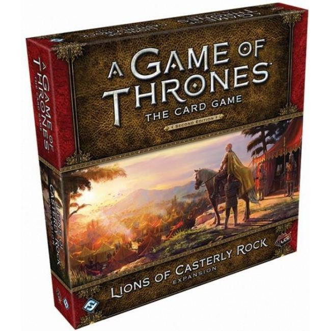 A Game of Thrones LCG 2nd Edition Lions of Casterly Rock Deluxe Expansion - Cubox Australia