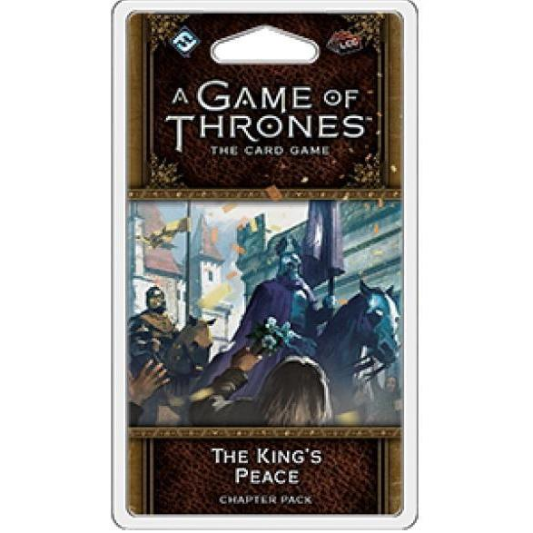 A Game Of Thrones LCG 2nd Edition The Kings Peace Chapter Pack - Cubox Australia