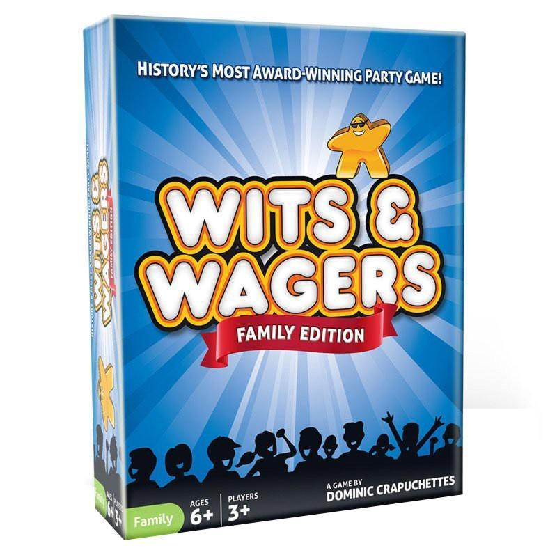 Wits & Wagers Family Edition Board Game - Cubox Australia