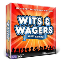 Wits & Wagers Party Edition Board Game - Cubox Australia