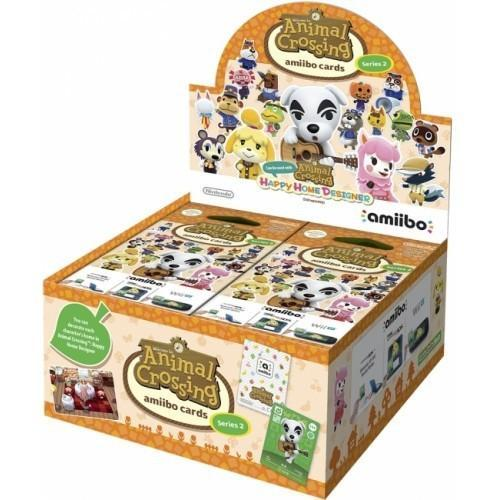 WiiU Amiibo Animal Crossing Cards Season 2 Display