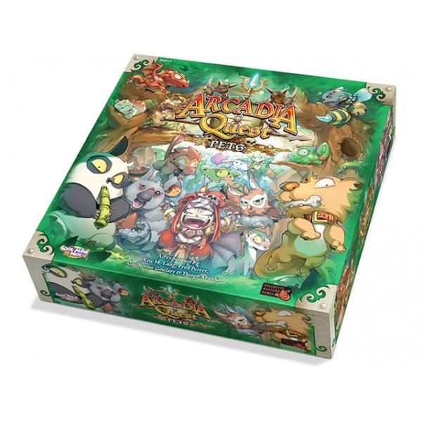 Arcadia Quest: Pets Expansion Board Game - Cubox Australia