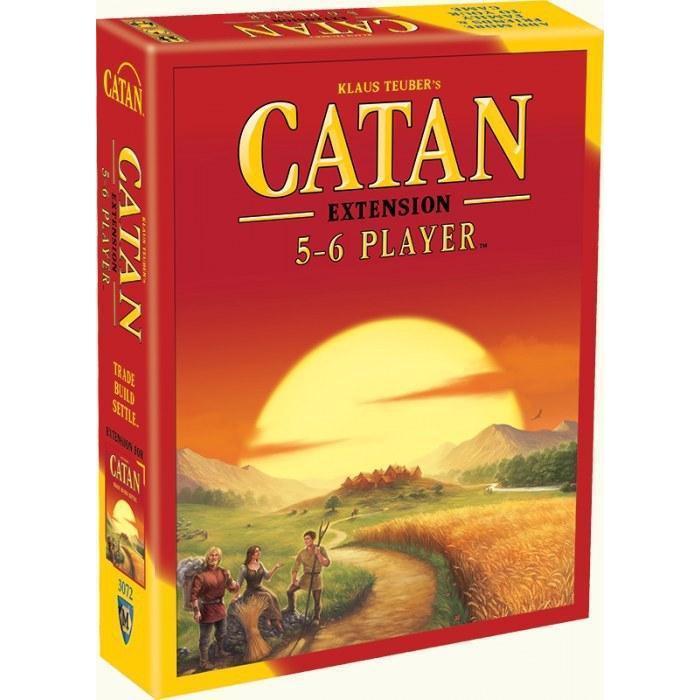 Catan 5-6 Player Extension Board Game - Cubox Australia