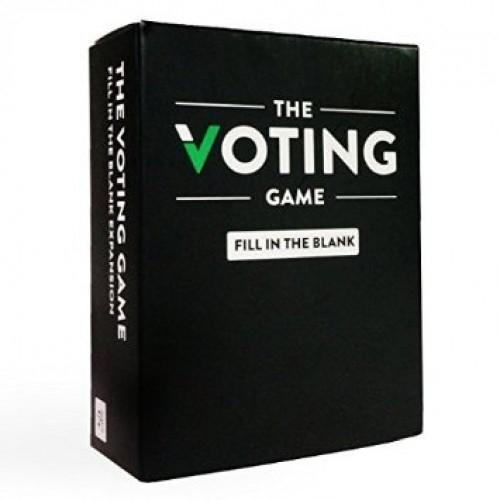 The Voting Game: Fill In The Blanks Expansion - Party Card Game