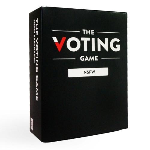 The Voting Game: NSFW Expansion - Party Card Game - Cubox Australia