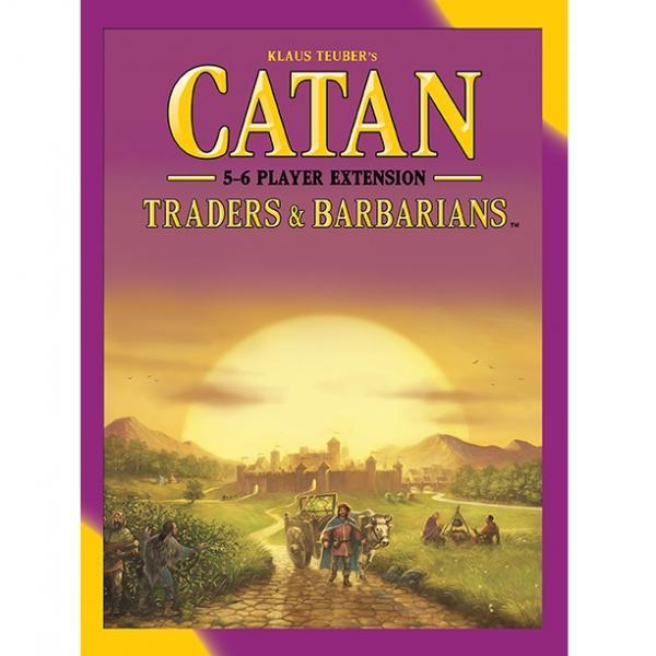 Catan Traders & Barbarians 5-6 Player Extension Board Game - Cubox Australia