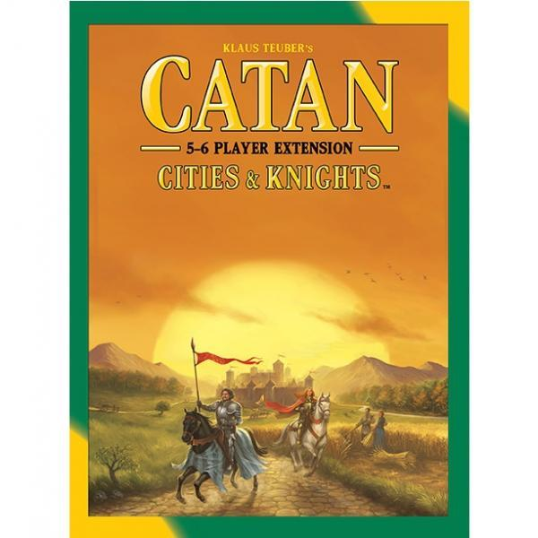 Catan Cities & Knights 5-6 Player Extension Board Game