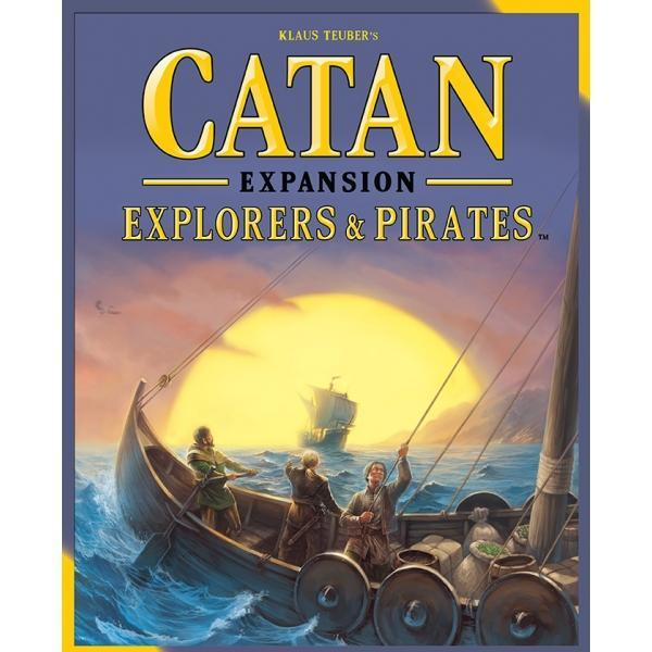 Catan Explorers & Pirates Expansion Board Game - Cubox Australia
