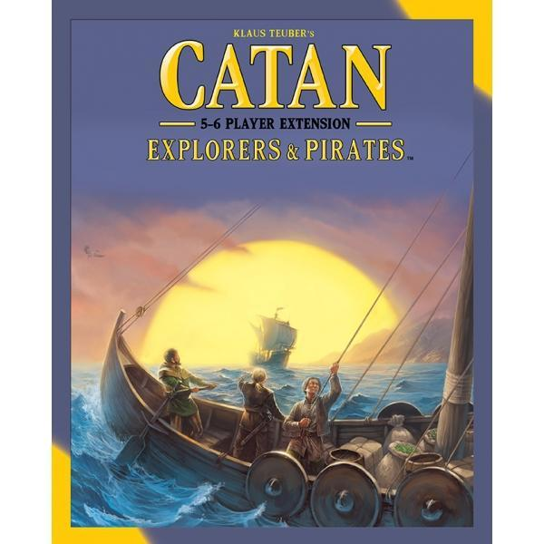 Catan Explorers & Pirates 5-6 Player Extension Board Game - Cubox Australia