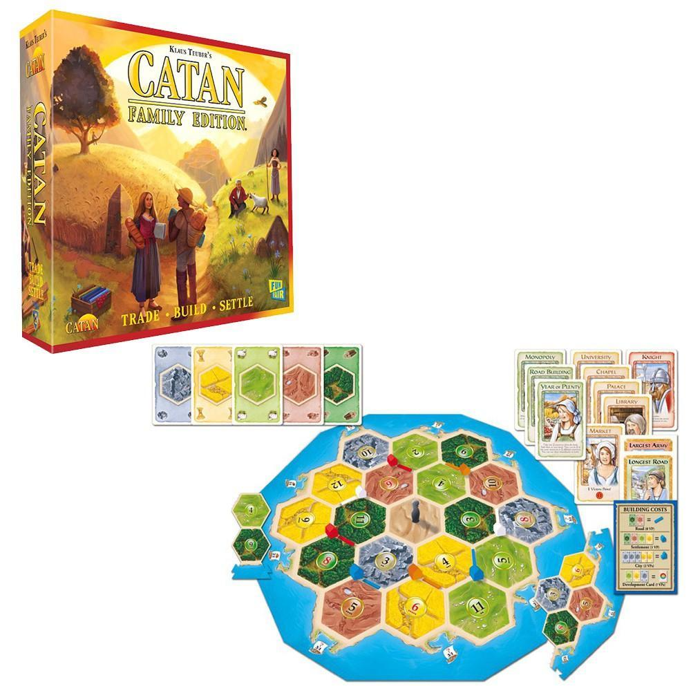 Catan Family Edition Board Game - Cubox Australia