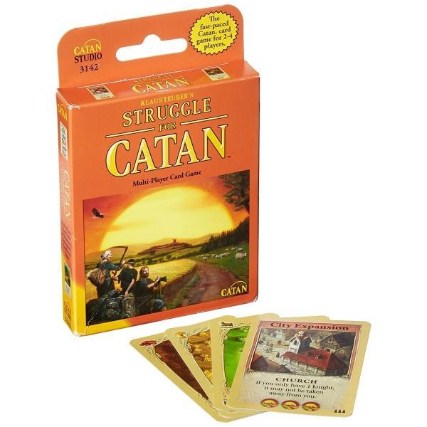 The Struggle for Catan Card Game - Cubox Australia
