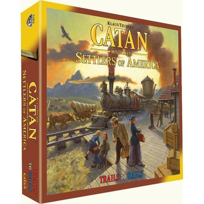 Catan Histories: Settlers of America Board Game - Cubox Australia