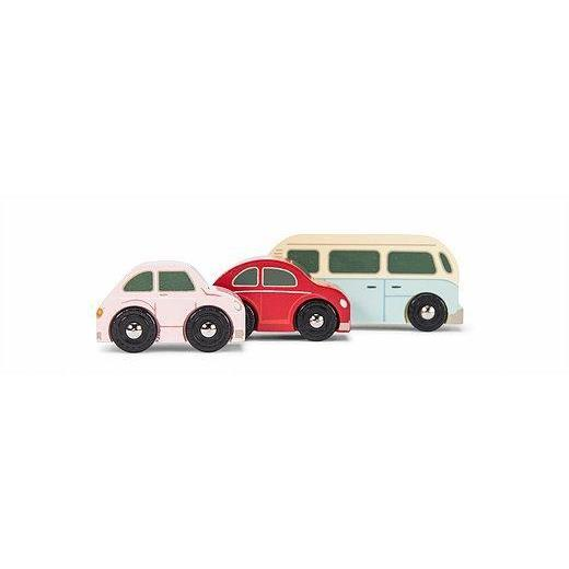Le Toy Van Retro Metro Car Set