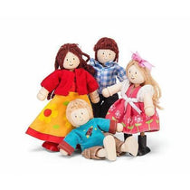 Le Toy Van Wooden Doll Family - Cubox Australia