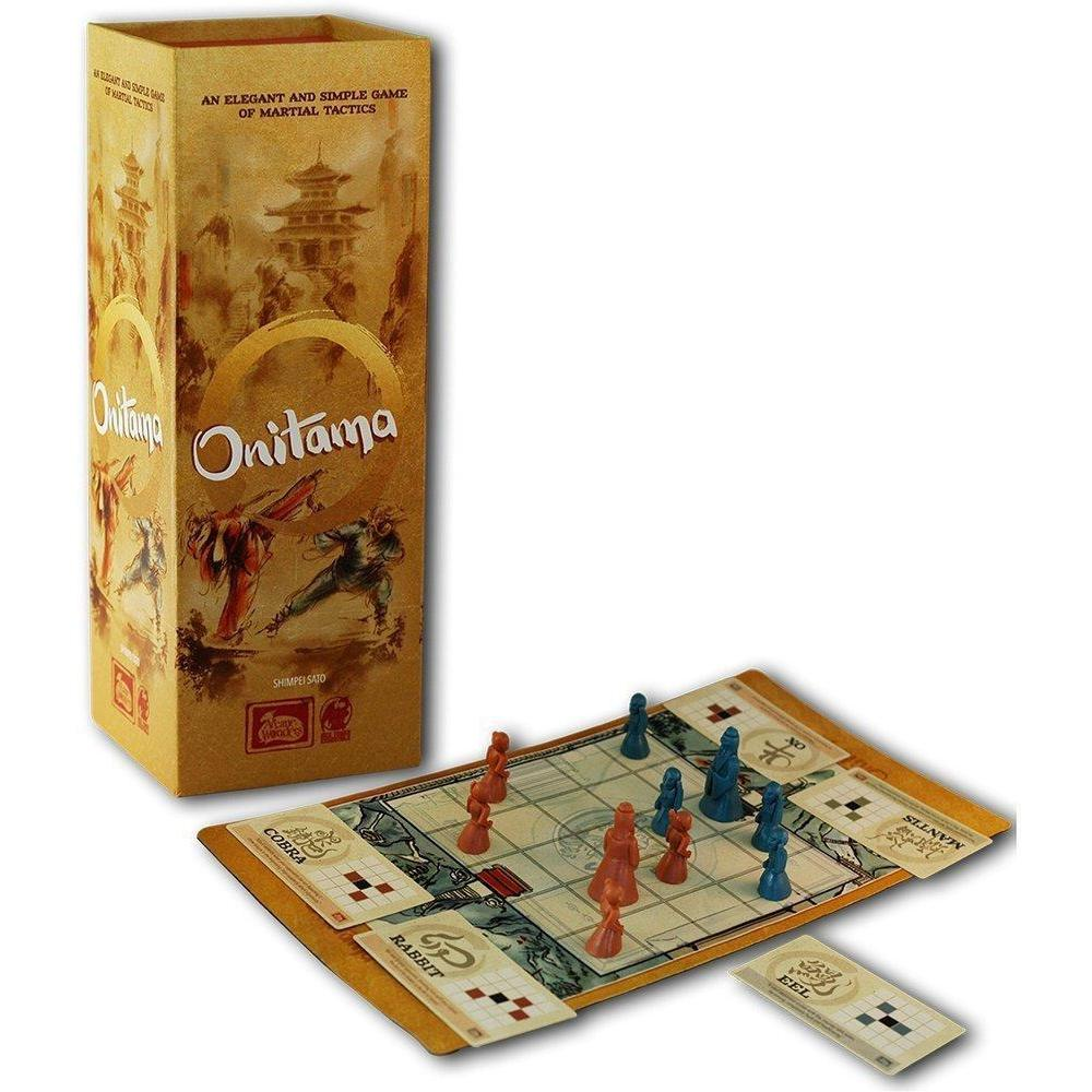 Onitama Board Game - Cubox Australia