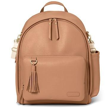Skip Hop Greenwich Simply Chic Backpack Caramel