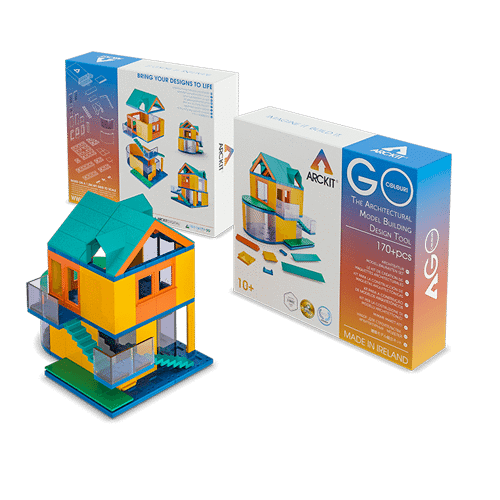 Arckit GO Colours - Architectural Model System