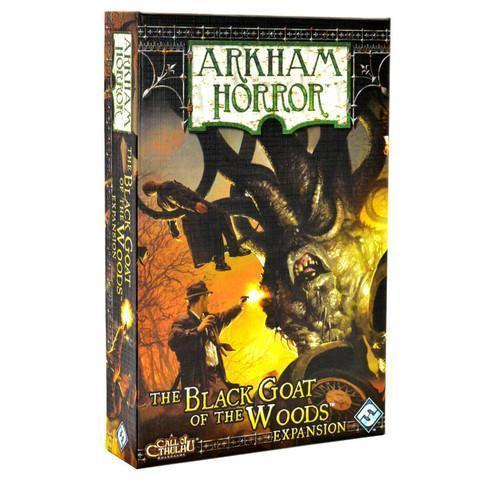 Arkham Horror Black Goat of the Woods Expansion