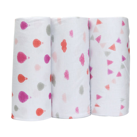 Bamboo Bubble Wrap Dreamtime Pinks Girls