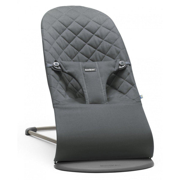 BabyBjorn Bouncer Bliss Anthracite Cotton - Cubox Australia