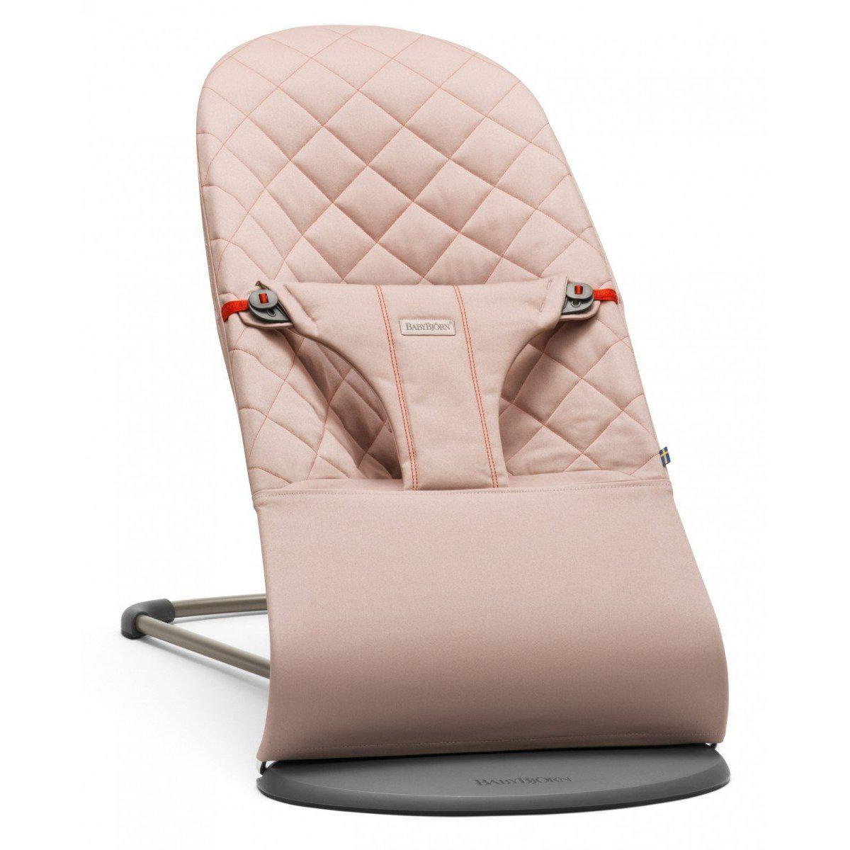BabyBjorn Bouncer Bliss Old Rose Pink Cotton