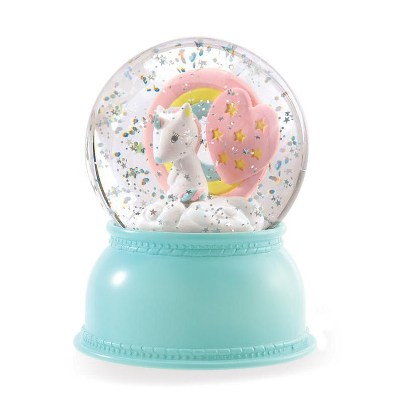 Djeco Globe Night Light Unicorn
