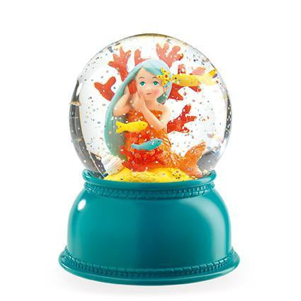 Djeco Mermaid Globe Night Light