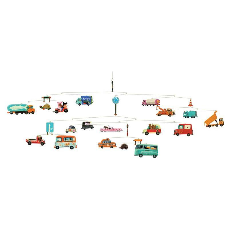 Djeco Traffic Mobile Toy
