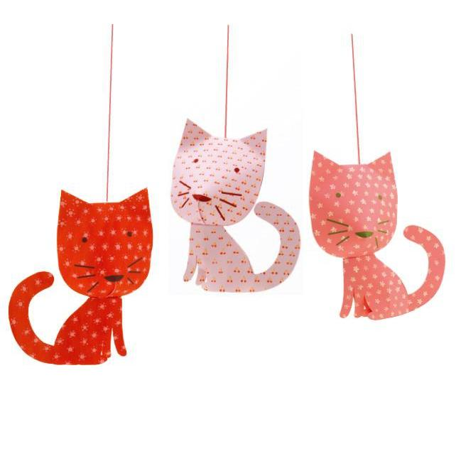 Djeco Perched Cats Mobile Lightweights