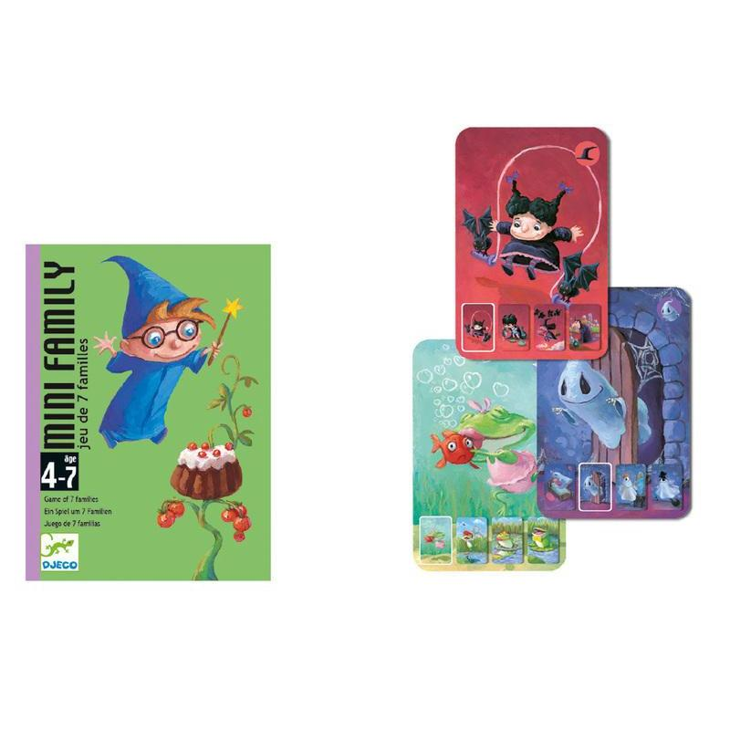 Djeco Mini Family Card Game