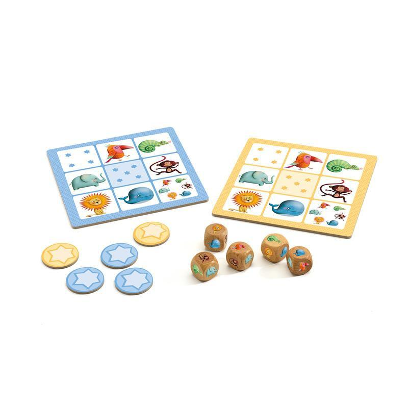 Djeco Yahtzee Junior Game