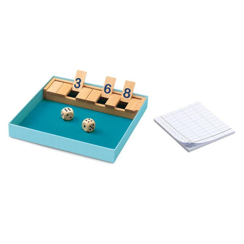 Djeco Shut The Box Wooden Game