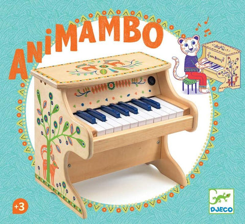 Djeco Animambo Electronic 18 Key Piano