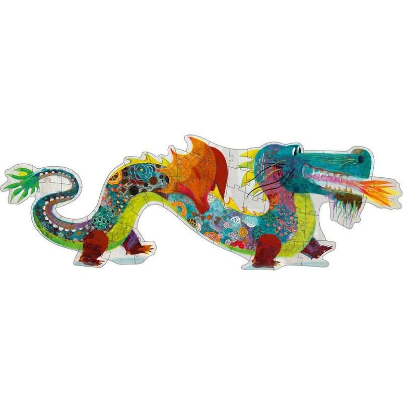 Djeco Leon The Dragon 58pc Giant Puzzle