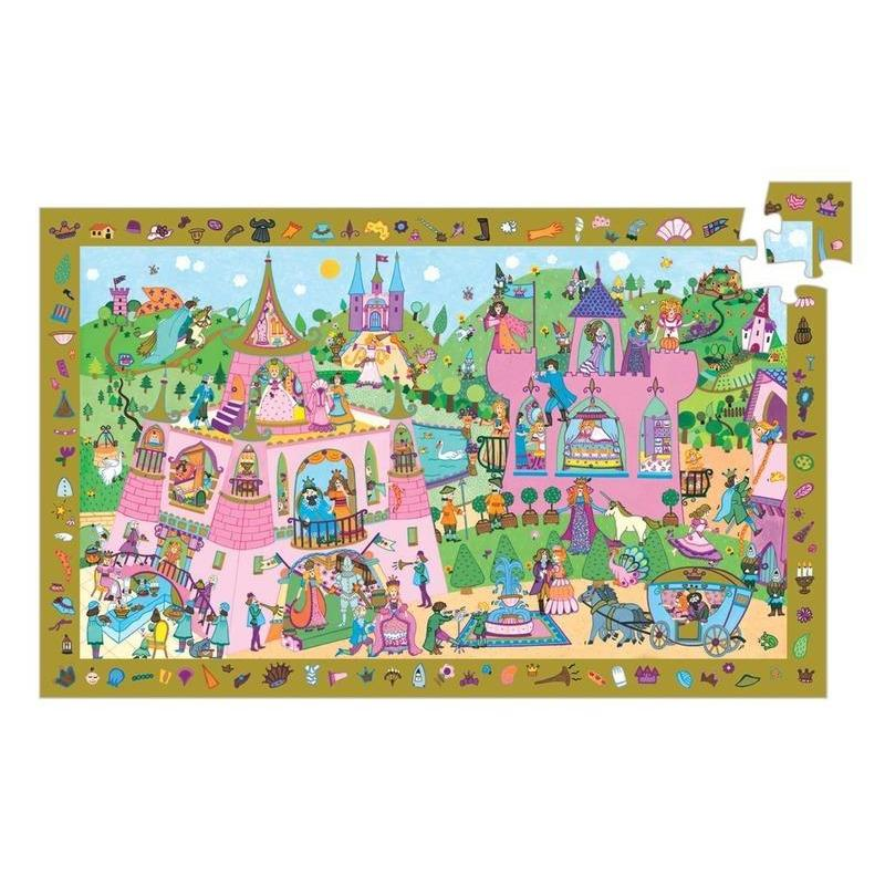 Djeco Princess 54pc Observation Puzzle