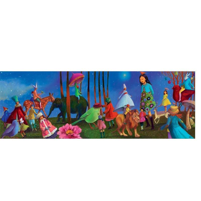 Djeco Wonderful Walk 350pc Gallery Puzzle