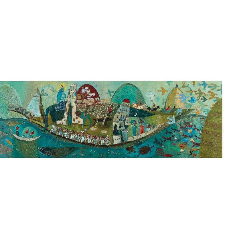 Djeco Poetic Boat 350pc Gallery Puzzle