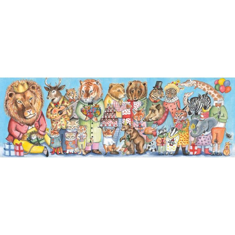 Djeco King Party 100pc Gallery Puzzle