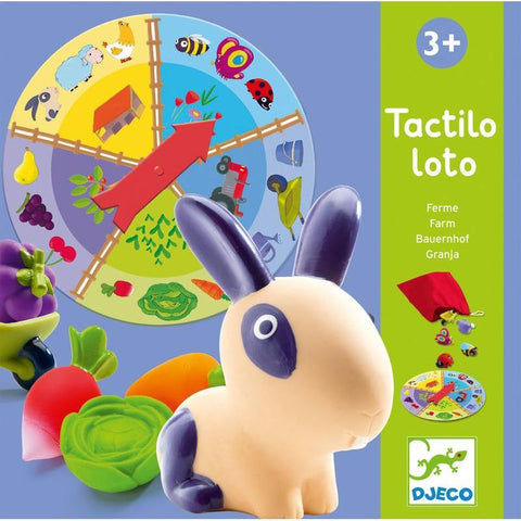 Djeco Tactilo Loto Farm Game