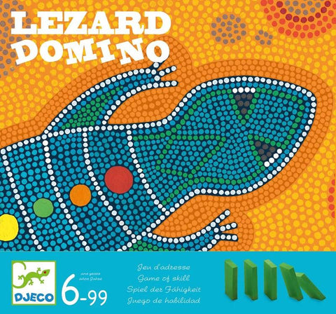 Djeco Lezardomino Game