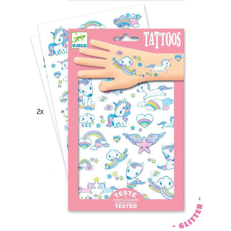 Djeco Unicorns Tattoos