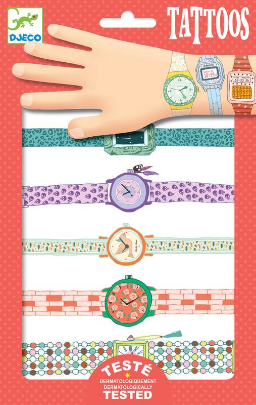Djeco Wendy's Watches Tattoos