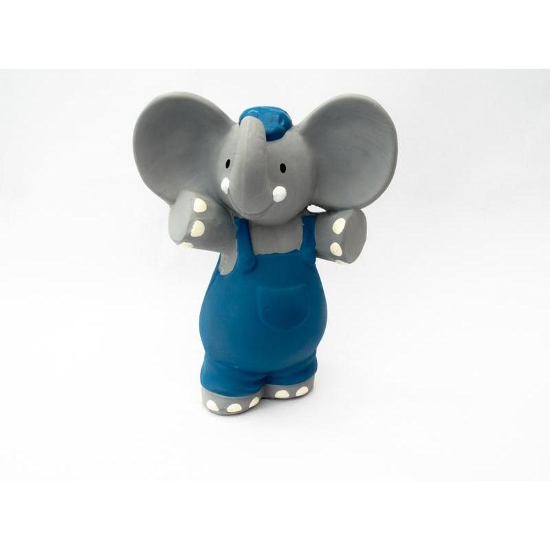 Meiya and Alvin Alvin The Elephant All Rubber Squeaker Toy
