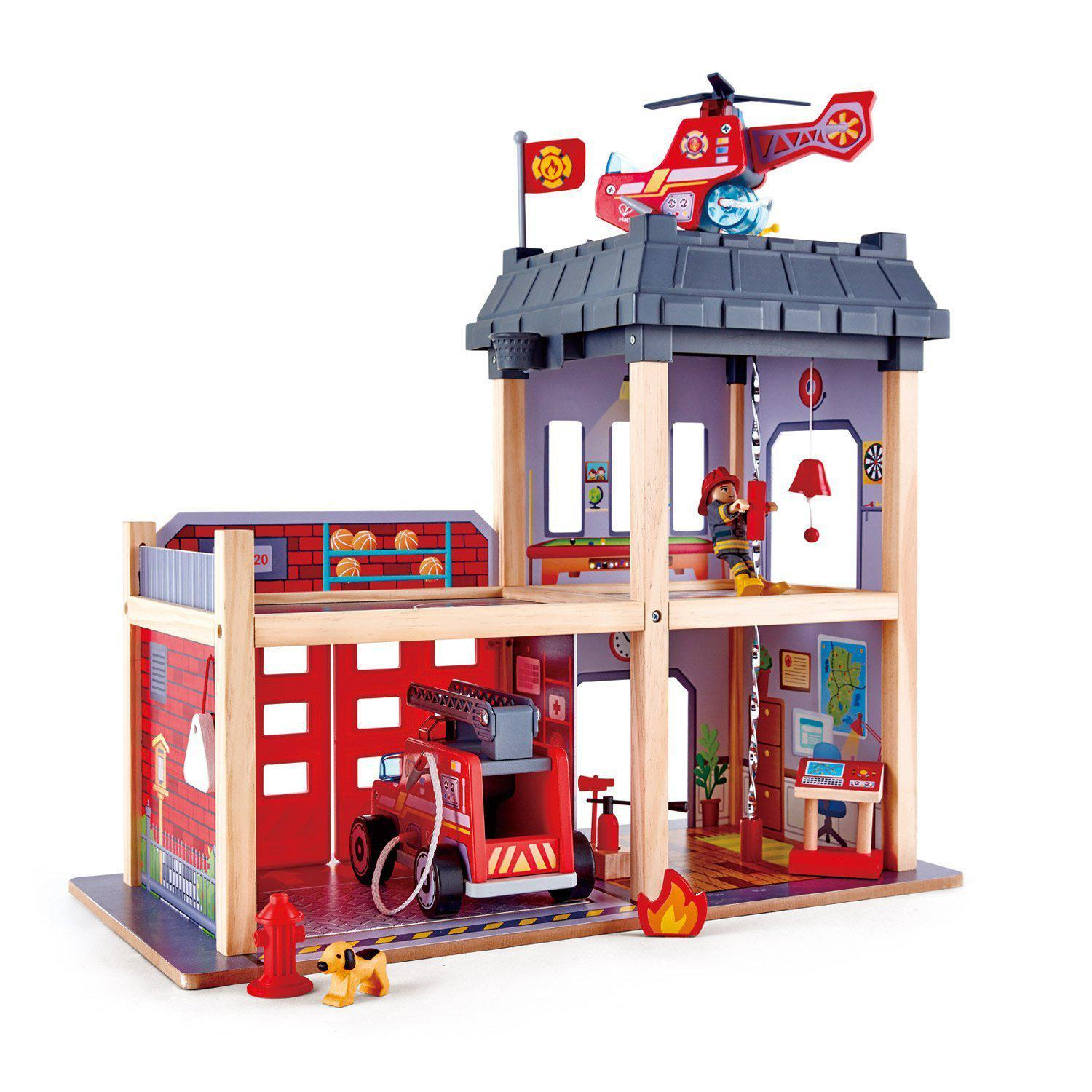 Hape Large Wooden Fire Station