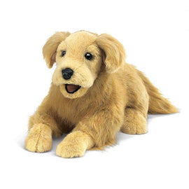 Folkmanis Loyal Golden Retriever Puppet